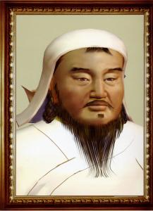 Portrait de Chinggis Khan